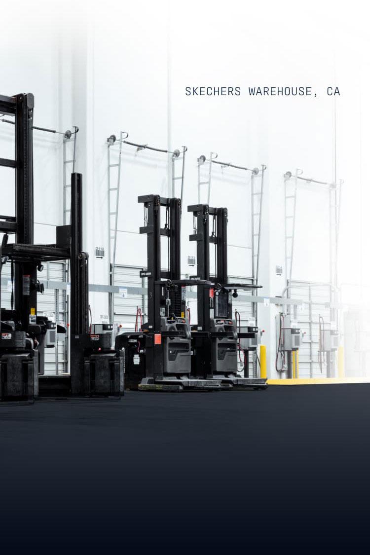 Skechers warehouse, CA